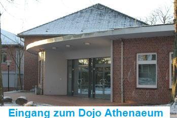 Eingang Sporthalle Athenaeum