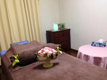 女性専門 鍼灸施術室