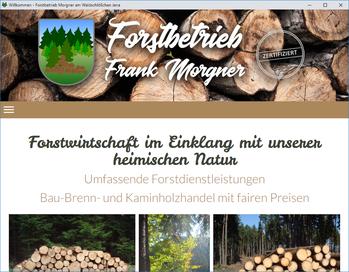 www.forstbetrieb-morgner.de
