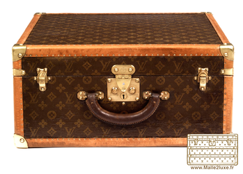 Louis vuitton 1934 suitcase suitcase cleaned and glued canvas