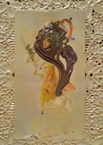 Первый Портрет Гала - Сальвдор Дали (1931)