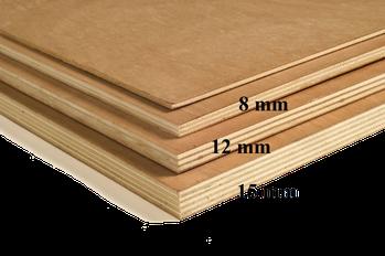 Epaisseur bois contre plaqué