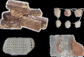 Types d'échantillons étudiés par Stone Assistance