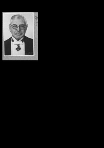 Hugo Bender - Fraktionsvorsitzender der DVP  in der Darmstädter Stadtverordnetenversammlung, renommierter Rechtsanwalt - stirbt verbittert 1941 im engl. Exil / Foto: FLS-Archiv