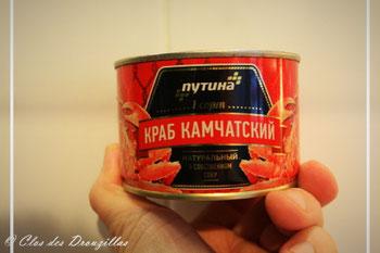 Crabe Kamtchatka