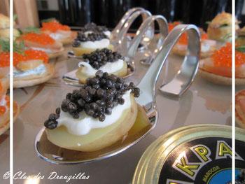 Caviar en robe des champs