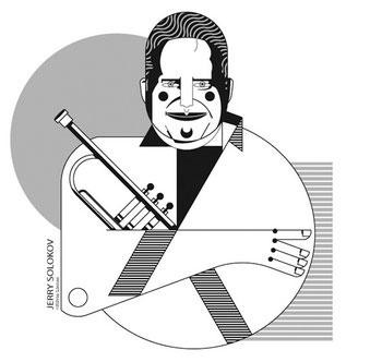 Jerry Solokov's portrait