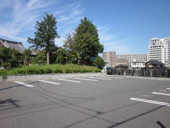 参詣者専用駐車場