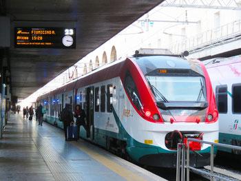 Rome Leonardo Express Airport Train from Fiumicino Airport to Roma Termini