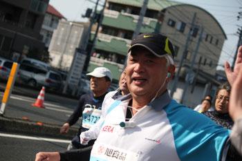 中谷元衆議院議員は6時間2分で完走