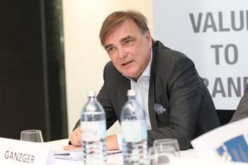 Ganzger, Value to brands, European Brand Institute, EBI, Pressekonferenz, ÖMWS2017. Österreichische Marken Wert Studie 2017