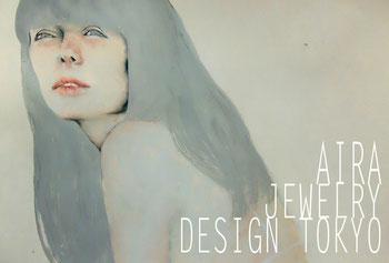 AIRA JEWELRY DESIGN TOKYO exhibiton DM design