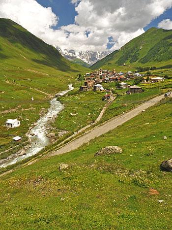 ウシュグリ、チヴィビアニ村