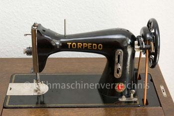 Torpedo, Geradstich, Flachbett, Fußantrieb, Motoranbau möglich, Hersteller: Haid & Neu AG, Karlsruhe (Bilder: I. Weinert)