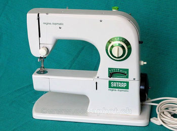 Regina topmatic – Schweizer Fabrikat, Hersteller: Regina AG. Wil/SG / später Bühler Regina AG, Arbon (Bilder: occaphot.ch)