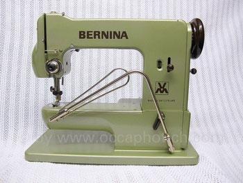 BERNINA Kl. 121, Hersteller: BERNINA Nähmaschinenfabrik Fritz Gegauf, Steckborn – Schweiz (Bilder: Nähmaschinenverzeichnis, occaphot.ch)