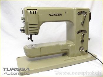 Turissa Automatic, Baujahr ca. 1950/52, Hersteller: Brütsch & Co. (ab 1951 Turissa Dietikon) (Bilder: occaphot.ch)