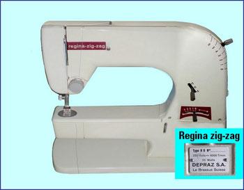 Regina zig-zag – Schweizer Fabrikat, Hersteller: Depraz S.A./ Le Brassus / später Regina AG. Wil/SG (Bilder: occaphot)