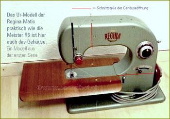 Regina-Matic 1.Serie. Hersteller : Konstrukteur Paul O.Rutishauser / Fa.Depraz S.A. / Le Brassus/suisse (Bilder: occaphot.ch)