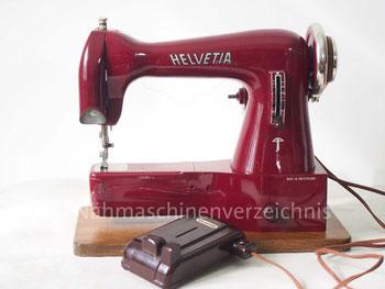 Helvetia 40 Freiarm-Nähmaschine, Hersteller: ehem. Schweizerische Nähmaschinenfabrik Luzern, Helvetia (Bilder: G. Ertl)