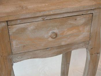 テレフォンテーブル 電話台 テーブル 花台 シャビーシック アンティーク家具 リサイクルウッド