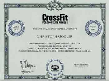 CrossFit cg athletics