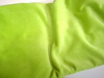 Stoffnummer BN04 grün Öko Klein