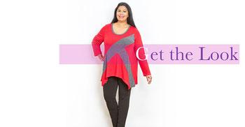 roter Damen-Pullover in großen größen , roter Damenpullover XXL