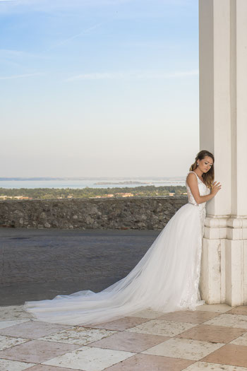 2 teiliges Brautkleid aus Memmingen im Allgäu