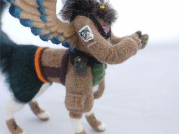 羊毛フェルト 人形 イラスト 立体化 キャラ