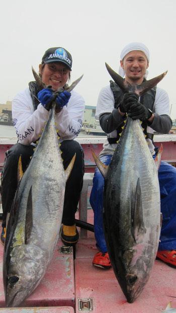 2012/7/20 井上様・青山様ダブルヒットで無事キャッチ