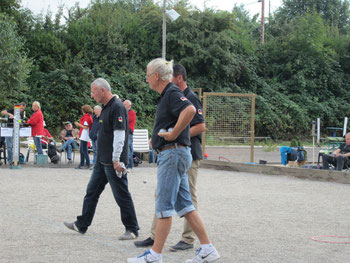 Team BAWÜ 17 Klaus Mohr, Klaus Eschenbach und Volker Jakobs
