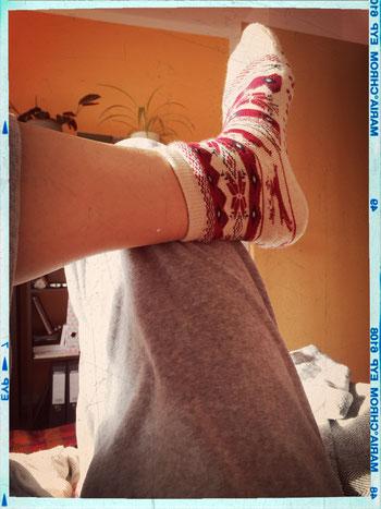 Mutti hat die besten Socken