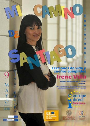 Conferencia  de Irene Villa