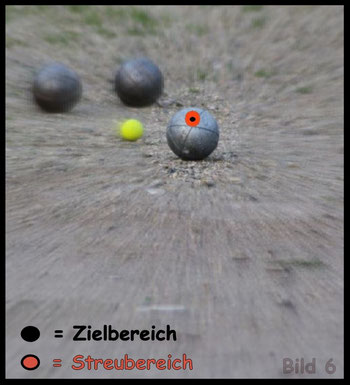 Boule - Pétanque / Schusstraining / Tireurtraining im Spiel 6