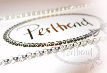 Halsketten Silber fein 76-85cm