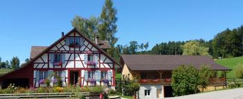 der Betrieb von Familie Fäh in Eugerswil