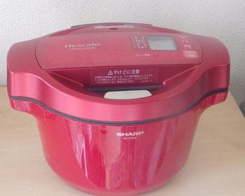 これがホットクック。炊飯器みたいな外見です。