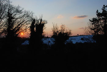Sunrise over the South Foreland