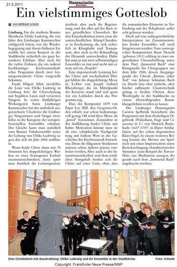 Ein vielstimmiges Gotteslob, von Willibald Schenk