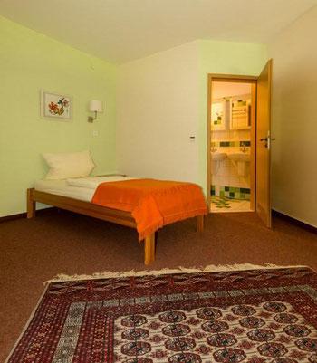 Urlaubszimmer, Ferienzimmer ohne Funk und WLAN