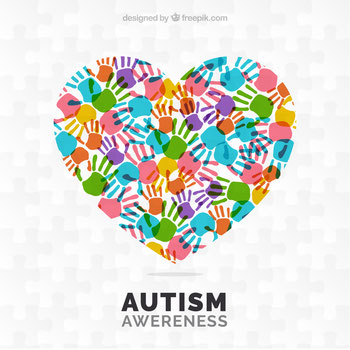 Logo des Autismus Aufmerksamkeits Tags