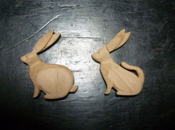 ウサギの耳がちぎれたら、、、、