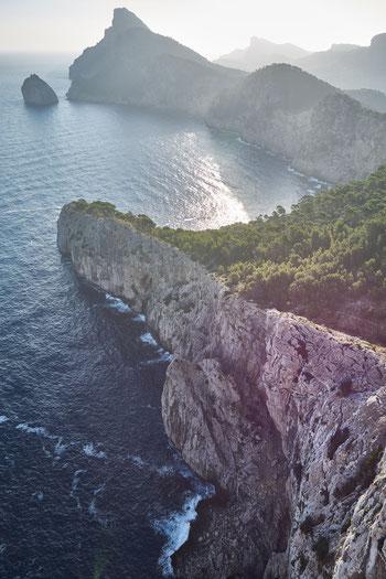 Fotospot Malorca mirador es colomer beim Sonnenaufgang fotografiert