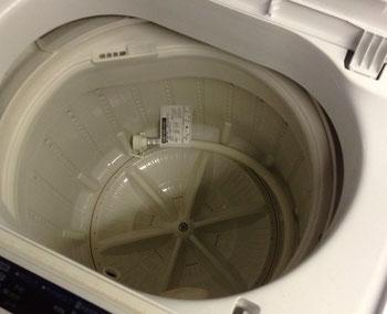 洗濯機のプラ槽