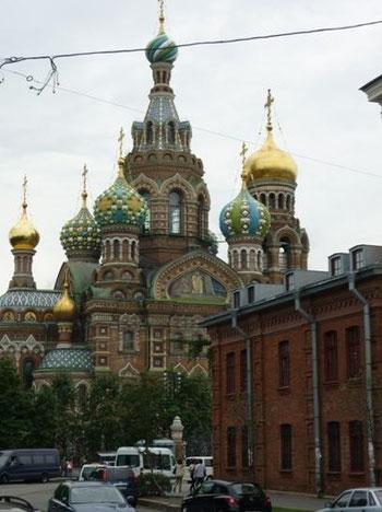 Christi-Auferstehungs-Kathedrale (Blutskirche), St. Petersburg