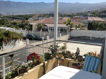 Ein einmaliges Panorama von der Ferienwohnung.