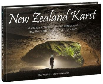 New Zealand Karst - Bildband über neuseeländischen Karst von Max und Stefanie Wisshak