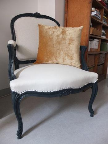 fauteuil style louis XV à vendre