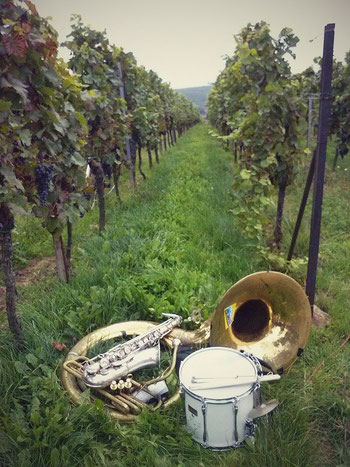 siebeldingen kulinarische weinbergswanderung 2014 band jazz saxophone